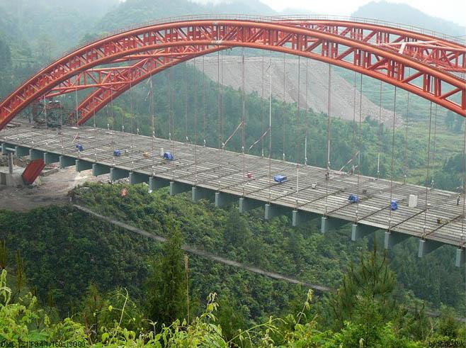 Xisha Footbridge - HighestBridges com